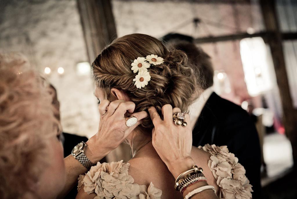 Wedding hair extension